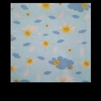Povlečení dětské polštář a přikrývka-modré