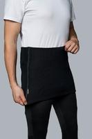 Vlněný pánský ledvinový pás Merino 240 černý
