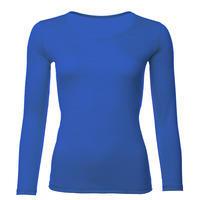 Dámské funkční triko Merino 140 dlouhý rukáv světle modré
