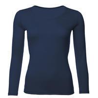 Dámské funkční triko Merino 140 dlouhý rukáv tmavě modré