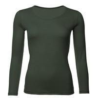 Dámské funkční triko Merino 140 dlouhý rukáv zelené