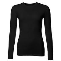 Dámské funkční triko Merino 210 dlouhý rukáv černé