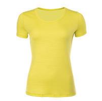 Dámské funkční tričko Merino 140 žluté