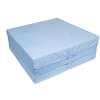 Klap matrace VITAPUR 3D froté modrá