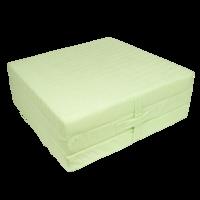 Klap matrace VITAPUR 3D froté zelená