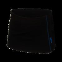 Funkční pánský ledvinový pás Merino 210 černý, modré švy