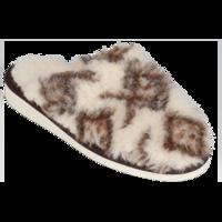 Pantofle vlněné OR se vzorem