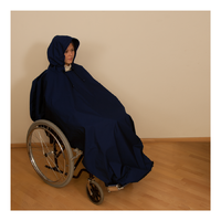 Pláštěnka pončo tmavě modrá