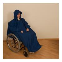 Pláštěnka s rukávem tmavě modrá