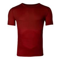 Pánské funkční tričko Merino 140 cihlově červená