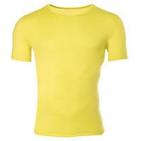 Pánské funkční triko Merino 140 dlouhý rukáv žluté