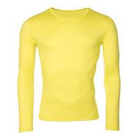 Pánské funkční tričko Merino 140 žluté