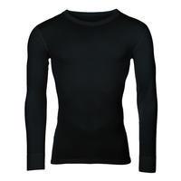 Pánské funkční triko Merino 210 dlouhý rukáv černé