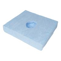 Sedák Froté KOMBI Visco ovál 40x45x8 modrý