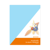 Prostěradlo bi-elastic PREMIUM modré