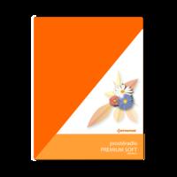 Prostěradlo PREMIUM SOFT oranžové