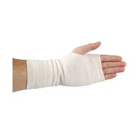 Vlněné rukavice bez prstů přírodní