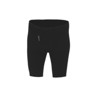 Pánské prodloužené funkční trenýrky Merino 210 černé