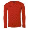 Pánský vlněný V pulovr Merino Extra Fine - Red - 1/3