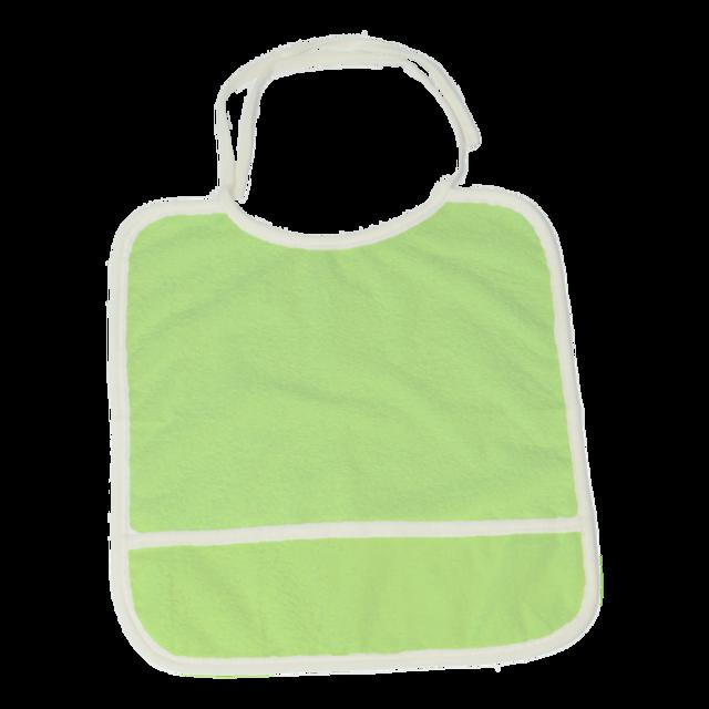 Bryndáček froté zelený, zelená