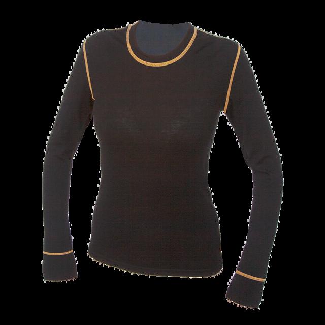 f7c03e19465 TEPLO DOMOVA - Dámské funkční triko Merino 210 dlouhý rukáv černé s ...
