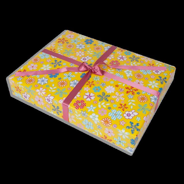 Dárkové balení žluté květy - 1