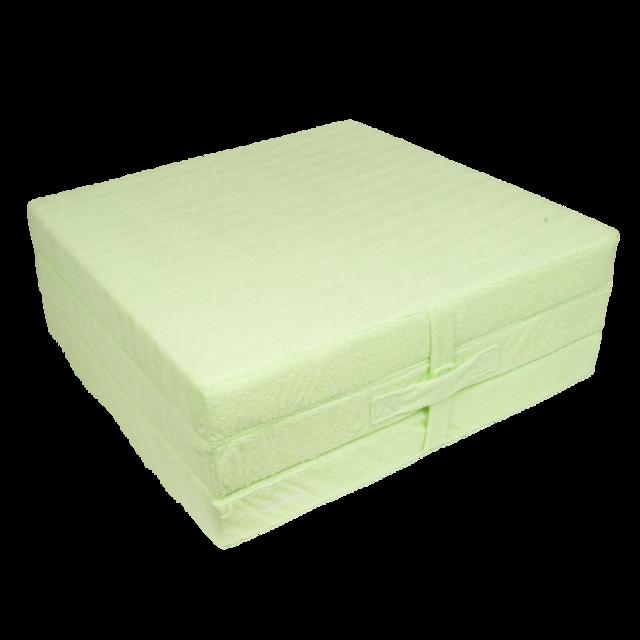 Klap matrace VITAPUR 3D froté zelená - 1
