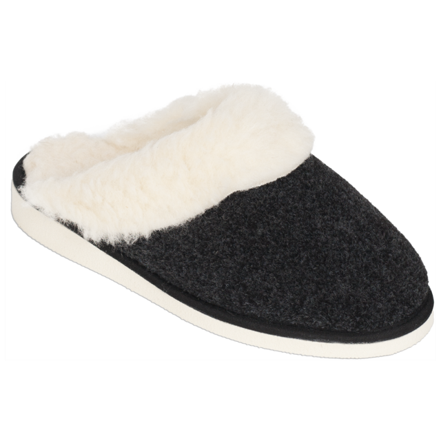 Pantofle vlněné NERA s lemem - 1