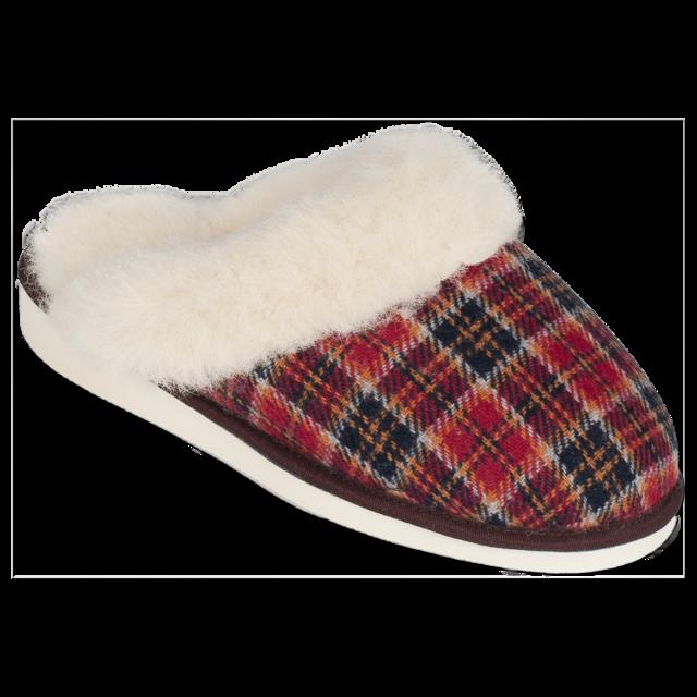 Pantofle vlněné TEX s lemem - 1