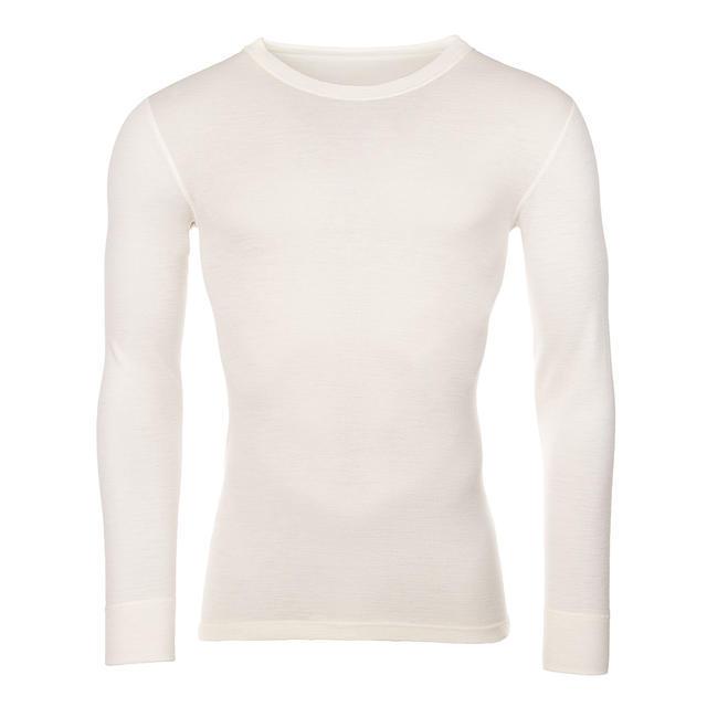 Pánské funkční triko Merino 210 dlouhý rukáv přírodní - 1