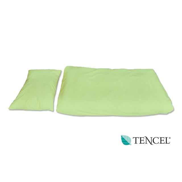 Povlečení hyg. TENCEL polštář 70x50 zelené, zelená
