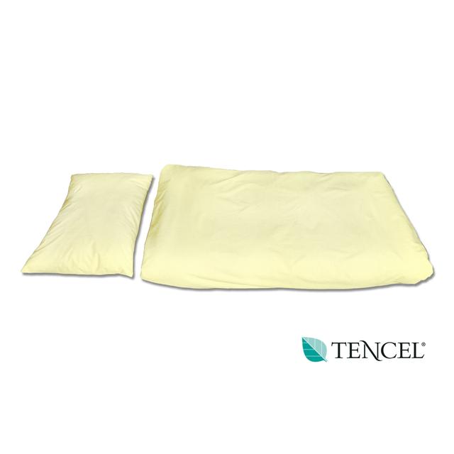 Povlečení hyg. TENCEL polštář 70x50 žluté, žlutá