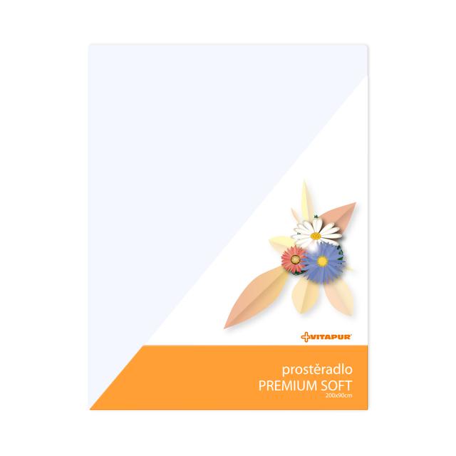 Prostěradlo PREMIUM SOFT bílé - 1