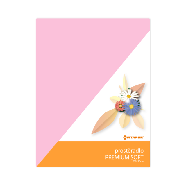 Prostěradlo PREMIUM SOFT růžové - 1