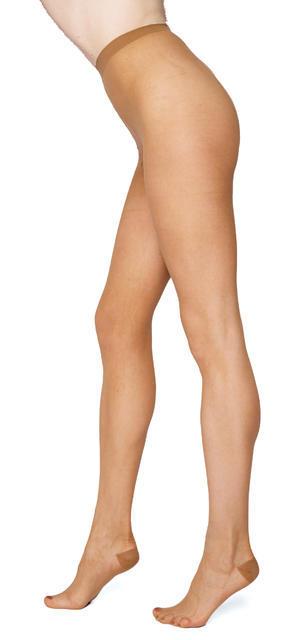 Punčochové kalhoty jemné BASIC  světle hnědá - 1