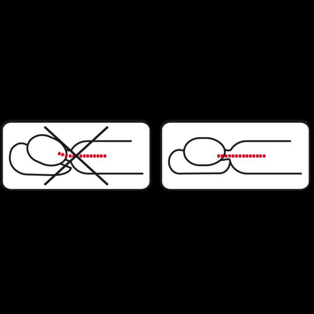 Anatomický polštář Vitapur Klasik Merino - 2