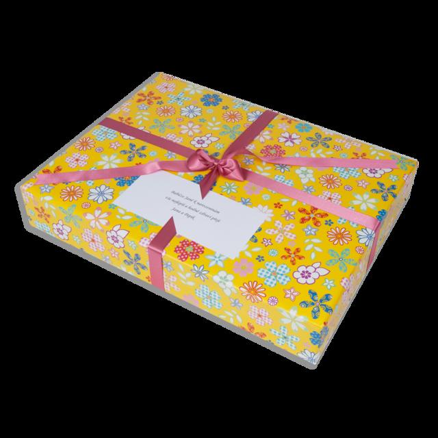 Dárkové balení žluté květy - 2