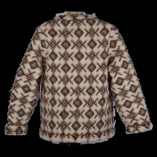 Kabátek vlněný se vzorem - 2