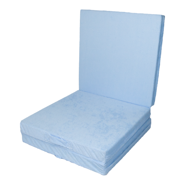 Klap matrace VITAPUR 3D froté modrá - 2