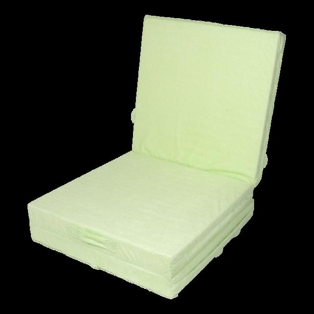 Klap matrace VITAPUR 3D froté zelená - 2