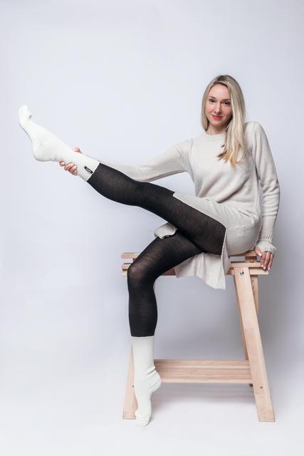 Vlněné ponožky Woolife Z Natural - 2