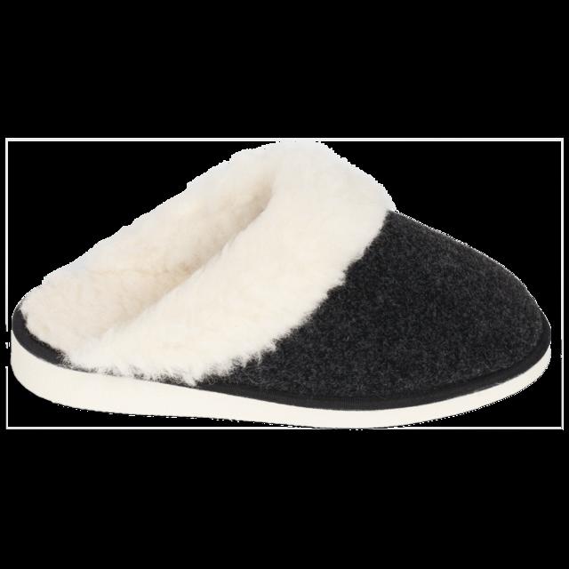 Pantofle vlněné NERA s lemem - 2