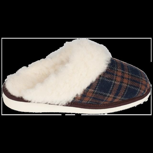 Pantofle vlněné TEX s lemem - 2