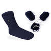 Ponožky Woolife Hand Made navy blue 23-25, 23-25 - 2/4