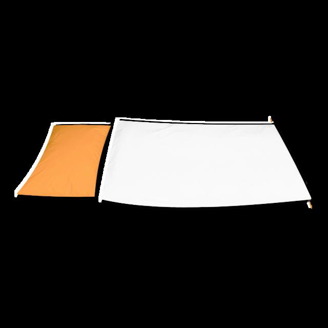 Povlečení  jersey PREMIUM TENCEL meruňkové - polštář - 2
