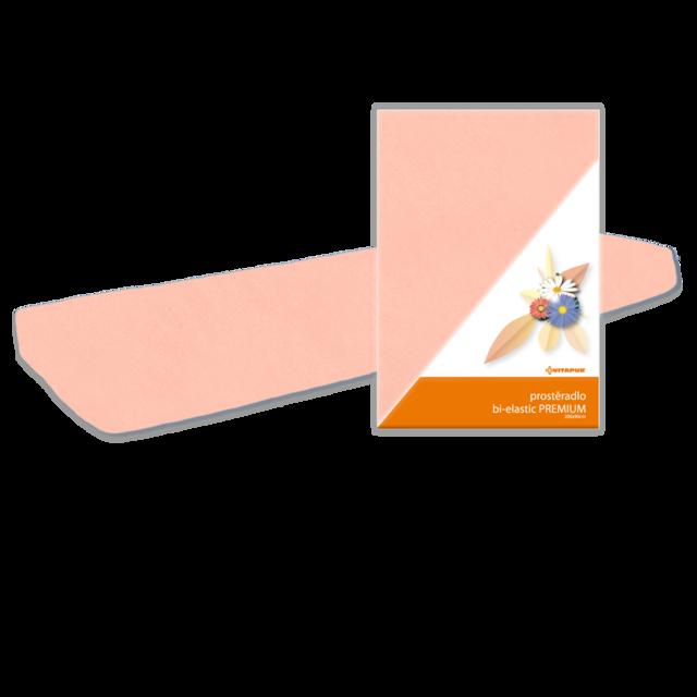 Prostěradlo Bi-elastic PREMIUM WRAP 200x90 lososové - 2