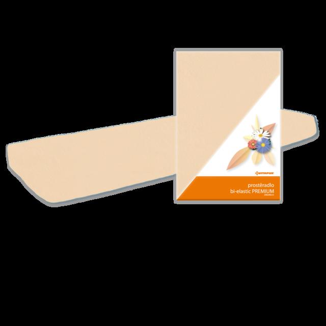 Prostěradlo Bi-elastic PREMIUM WRAP 200x90 medové - 2