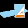 Prostěradlo bi-elastic PREMIUM modré - 2/4
