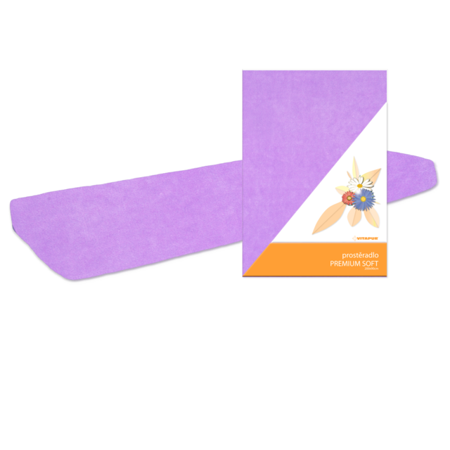 Prostěradlo PREMIUM SOFT fialové - 2