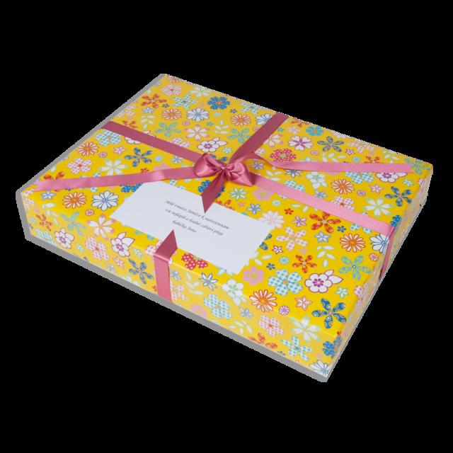 Dárkové balení žluté květy - 3